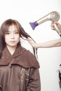 髪を乾かすコツ
