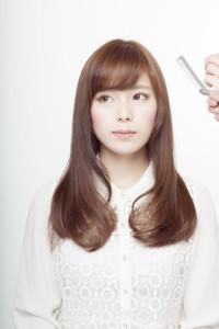 綺麗な髪色のカラーリング