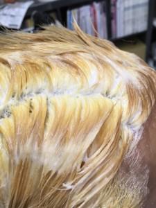 ブリーチ毛を、綺麗にする方法