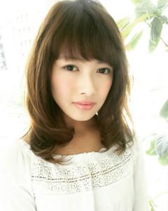 銀座カロンカラーリング明るい白髪染め自然な黒髪髪質改善